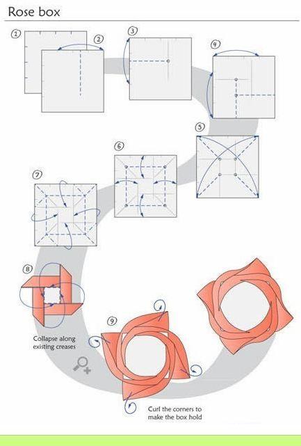 flores de origami
