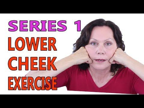 best facial exercise for sagging jowls  exercise poster