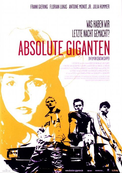 Absolute Giganten, 1999, Buddy-Film, von Sebastian Schipper