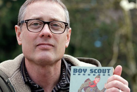 LGBTQ Nation: April 8, 2014 - Gay Scoutmaster refuses to step down, church stands by his decision