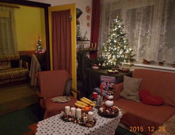 ebben az évben a karácsonyfára horgoltam!