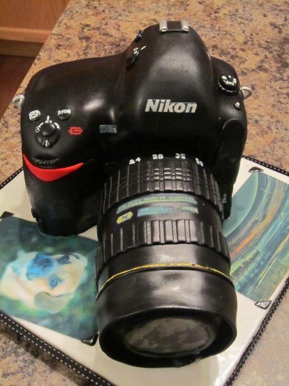 Nikon Camera Cake Images : Nikon Camera Cake Camera Pinterest Nikon, Cakes and ...