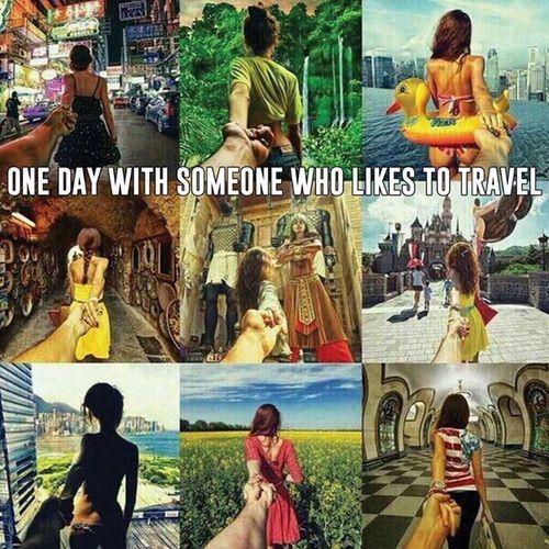 Image via We Heart It #couple #goals #travel