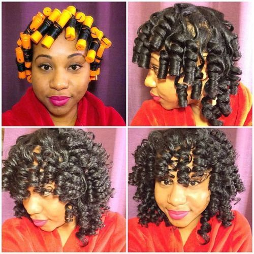 1000 Images About Dry Wet Curls On Pinterest Natural Roller Set Hairstyles Perm Rod Set Perm Rods