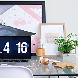 desk accessory dreams // @workspacegoals