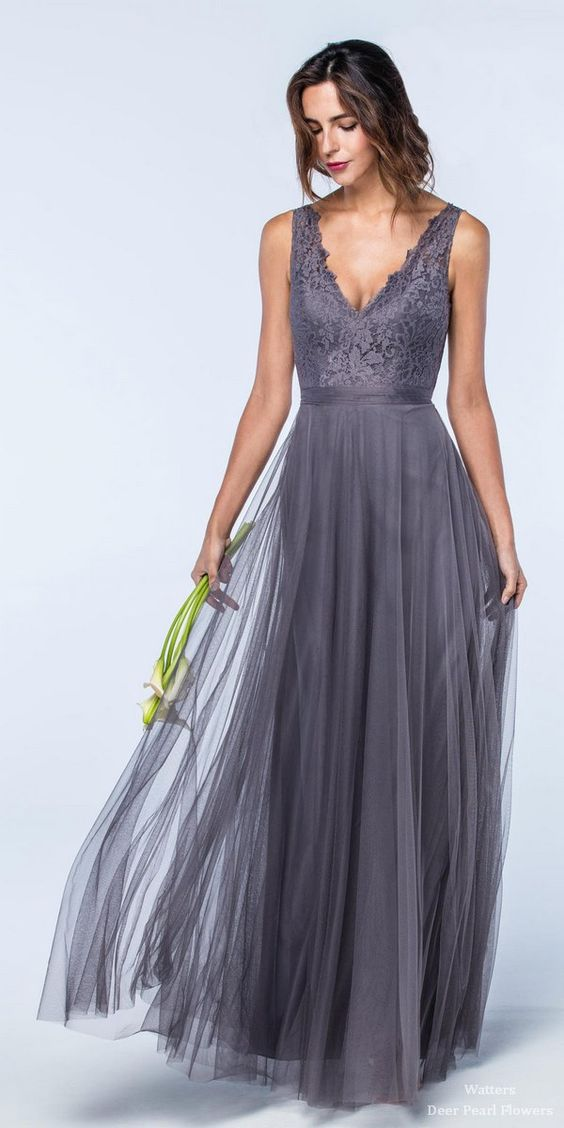 Watter Bridesmaid Dresses Collection | Deer Pearl Flowers: