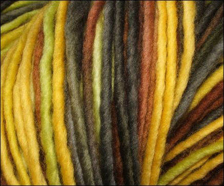 "multi color 100% merino yarns!  ""103 Autumm"" by Abuelita Yarns"