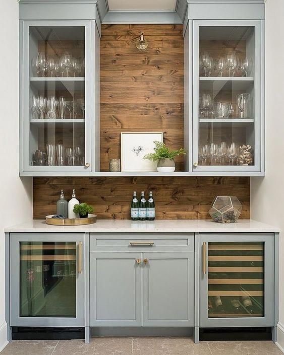 Casa Tres Chic Homebardecorationdiy Kitchen Remodel Pantry Interior Kitchen Cabinets