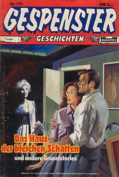 Cover for Gespenster Geschichten (Bastei Verlag, 1974 series) #721