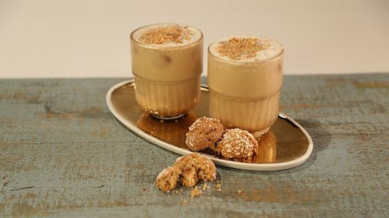 Clinton Kelly's Biscotti Iced Coffee | Drinks & Punch | Pinterest ...