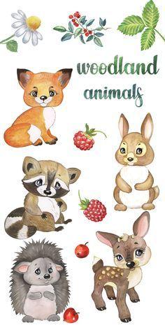 Pin By Weronika Szykowska On Dziecko Baby Animal Drawings Baby Animal Prints Animal Clipart