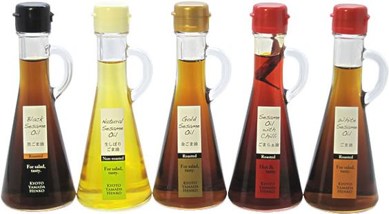 ごま油洋風シリーズ Wow, who knew there are so many types of sesame oil. I love it! PD