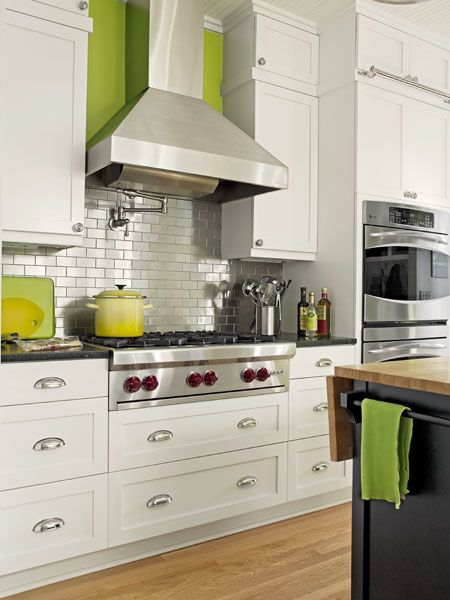 A Busted Open Brightened Up Kitchen Stove Ranges And Hoods