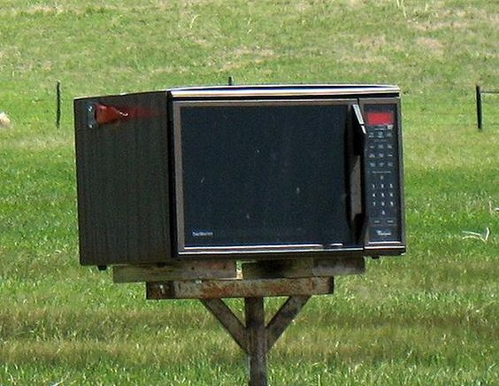 Microwave for a Mailboxes