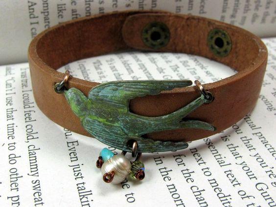 Bird Bracelet. Want Now.