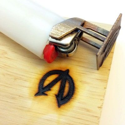 How to Make a Custom Bic Monogram Branding Tool The Homestead Survival - Homesteading - DIY Project