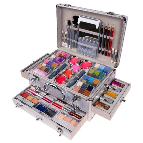 shany makeup kit. shany cosmetics carry all trunk professional makeup kit - 4 layers holiday cosmetic gift set limited tobona.com | kaileigha pinterest shany