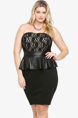 3XL Plus Size Clothing 2014 Women Summer Dress T21376 Sexy Fat ...