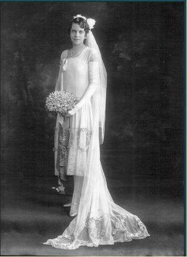 Robe De Mariee Annee 20