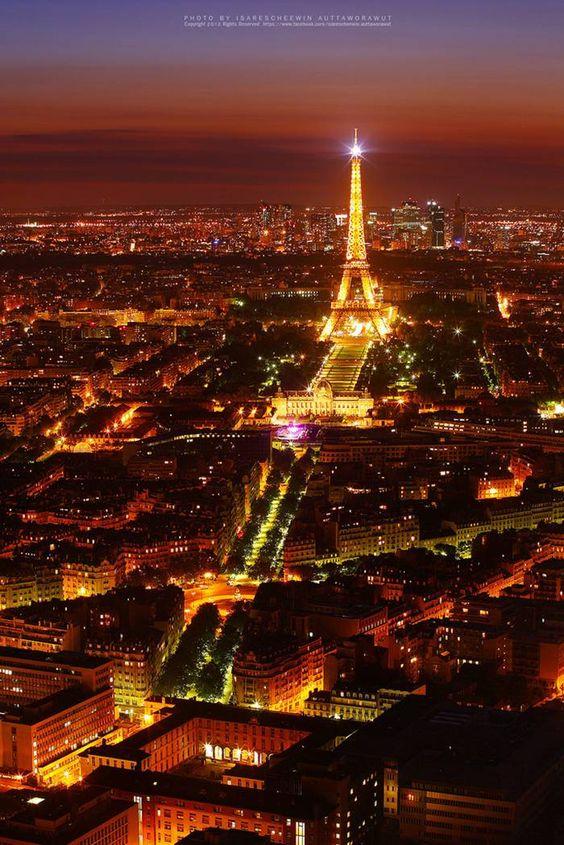 Paris from Bird's-eye View