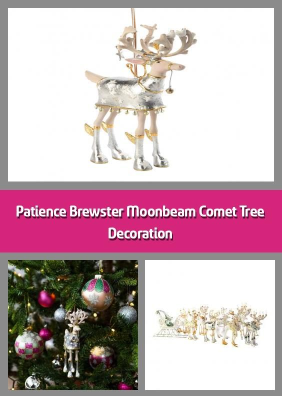 2020 Christmas Comet Patience Brewster Moonbeam Comet Tree Decoration in 2020 | Tree