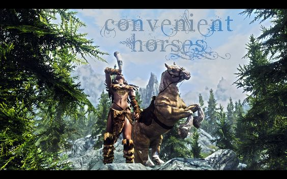 Convenient Horses mod by Alek @ nexusmods.