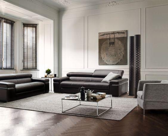 Natuzzi Italia Avana Sofa - Natuzzi Italia Philadelphia - 321 - design sofa moderne sitzmobel italien