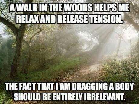 Need to start taking more walks lmao.