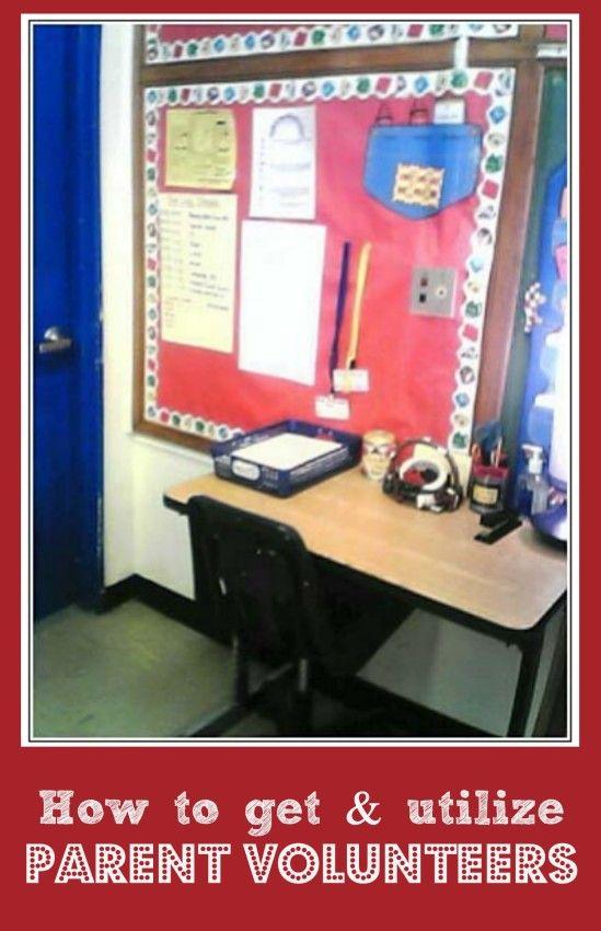 Classroom Volunteer Ideas : Tips for getting and utilizing parent volunteers get