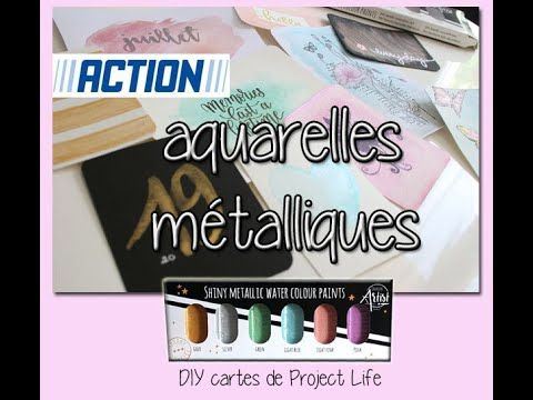 Epingle Par Stephanie Sur Action Project Life Aquarelle Cartes