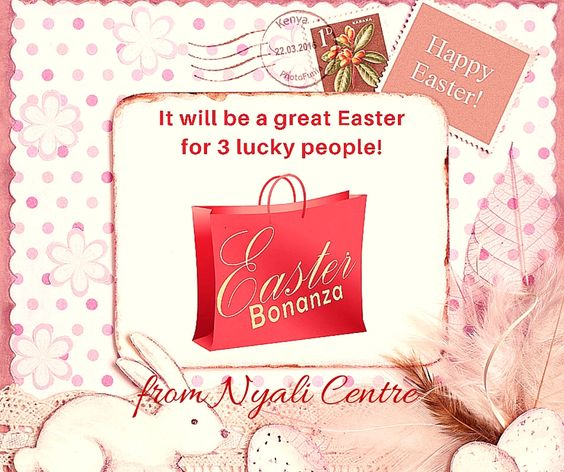 HAPPY EASTER! Are you going to be one of the 3 lucky ones to have a GREAT one? Click image to see how YOU can be the LUCKY one