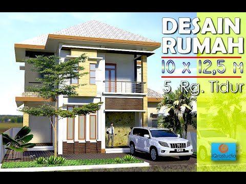 desain rumah minimalis lebar 6 meter 2 lantai - rumah desain