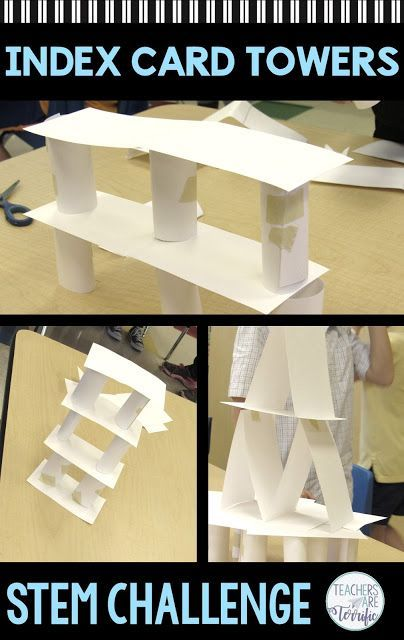 The Best Stem Tower Ever Stemactivitieselementary With Images Elementary Stem Activities Stem Challenges Stem Towers