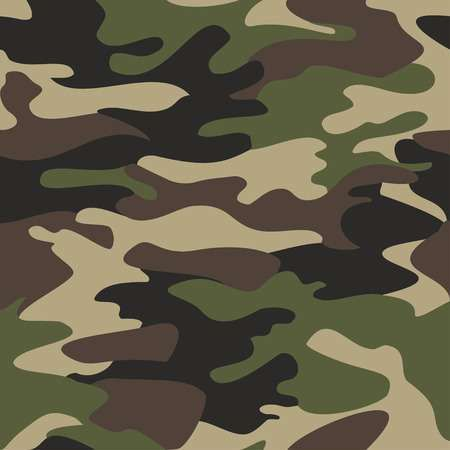 Camouflage Pattern Background Seamless Vector Illustration Classic Background Patterns Camouflage Pattern Camo Wallpaper
