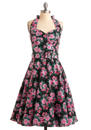 Enchanted Afternoon Dress in Mums