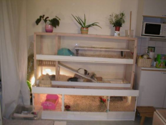 Ikea cupboards guinea pigs and ikea wardrobe on pinterest for Diy guinea pig hutch