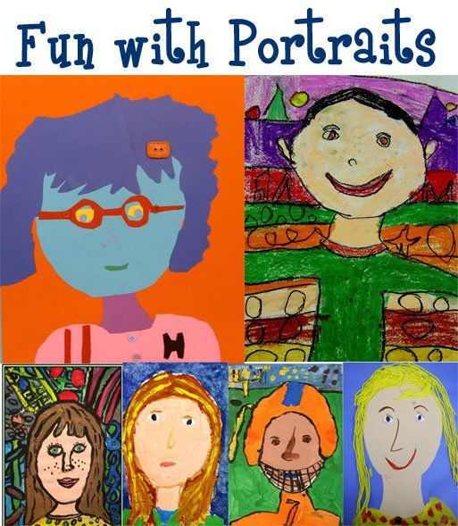 Portraits | Pinterest | Kid, Deep space sparkle and Art lesson plans
