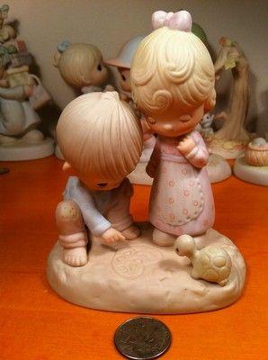 "1979 Precious Moments "" Thou Art Mine "" Figurine"