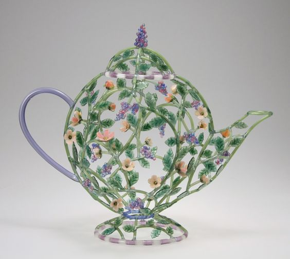 """Jeweled Teapot""     Kari Russell-Pool"