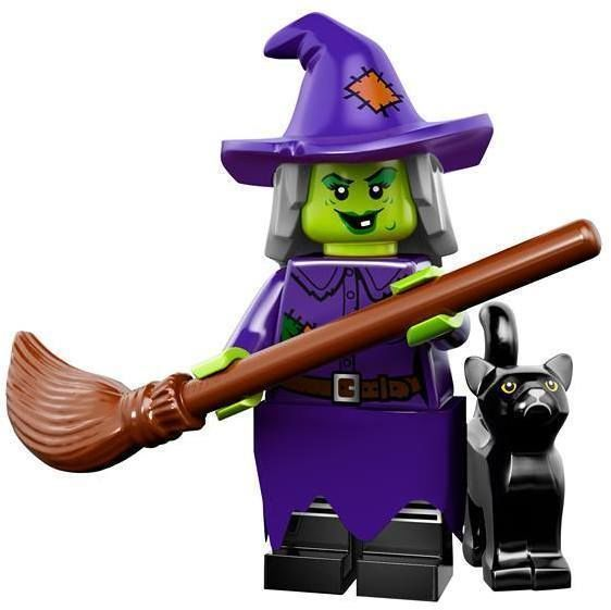 LEGO WACKY WITCH MINIFIGURE Halloween Monster Figure Series 14 71010 #LEGO