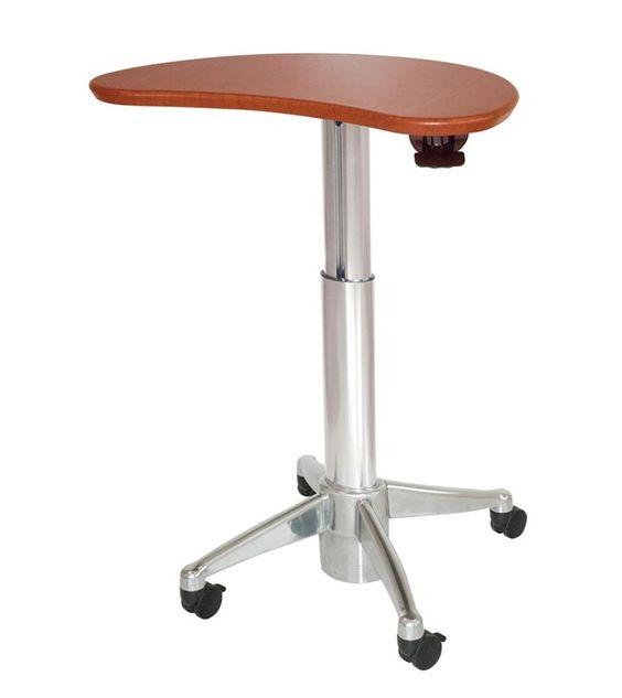 Copiar el diseño: http://www.alimed.com/height-adjustable-work-tables.html