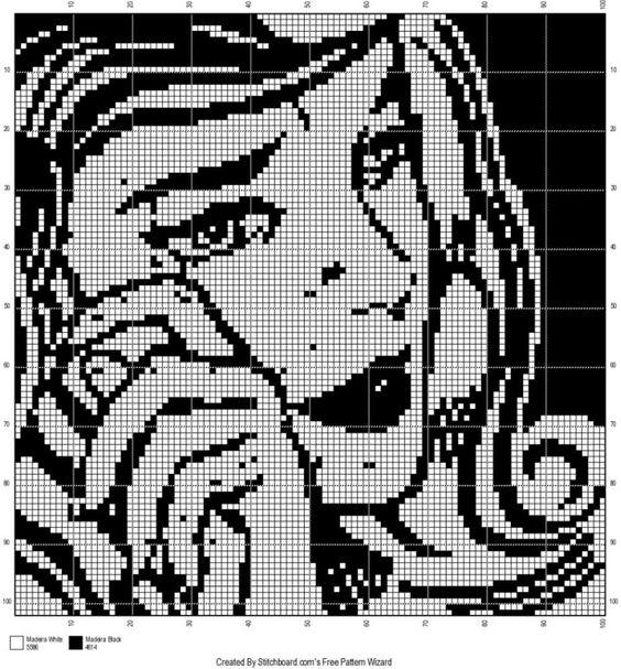 Roy Lichtenstein girl