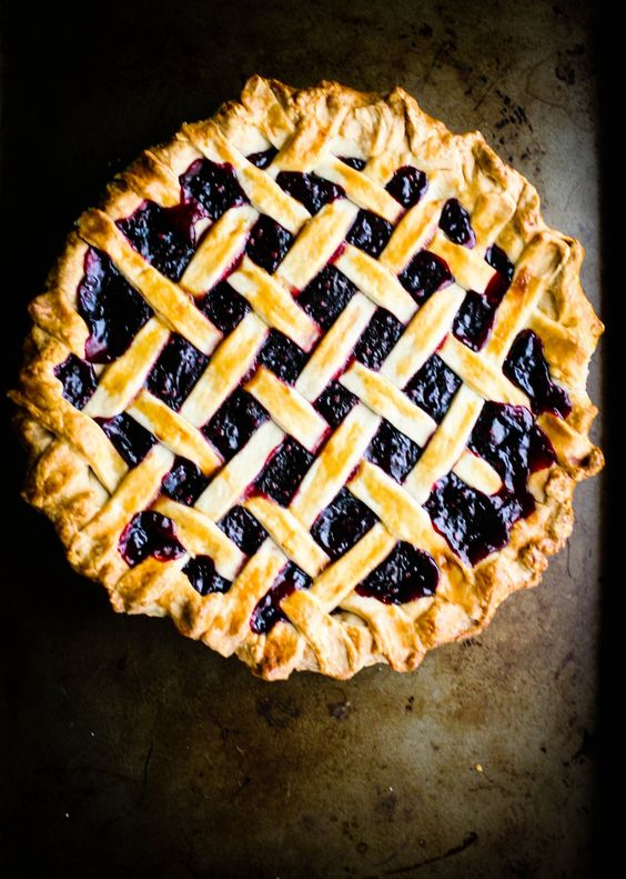 the proper way to make blackberry pie. the southern way, which involves cooking the berries to make a sauce mixture. this recipe has made the best berry pies i've ever tasted! rich, and with the perfect balance of sweet and tart!