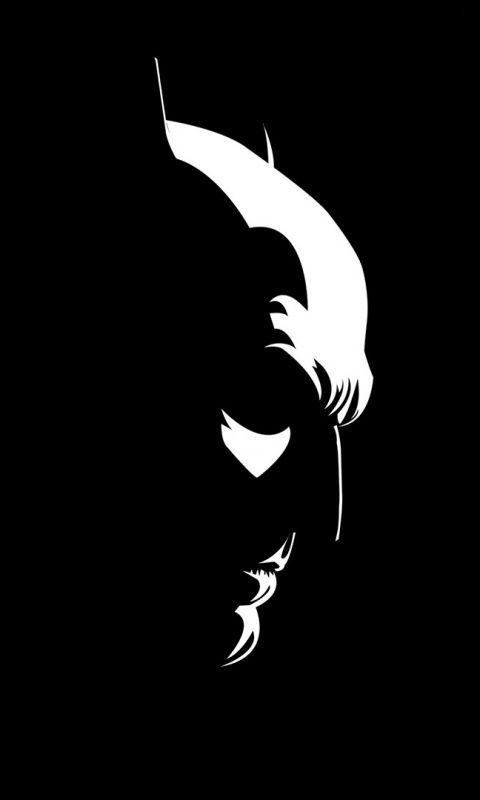 Batman Dark Knight Minimal 480x800 Wallpaper Batman Artwork