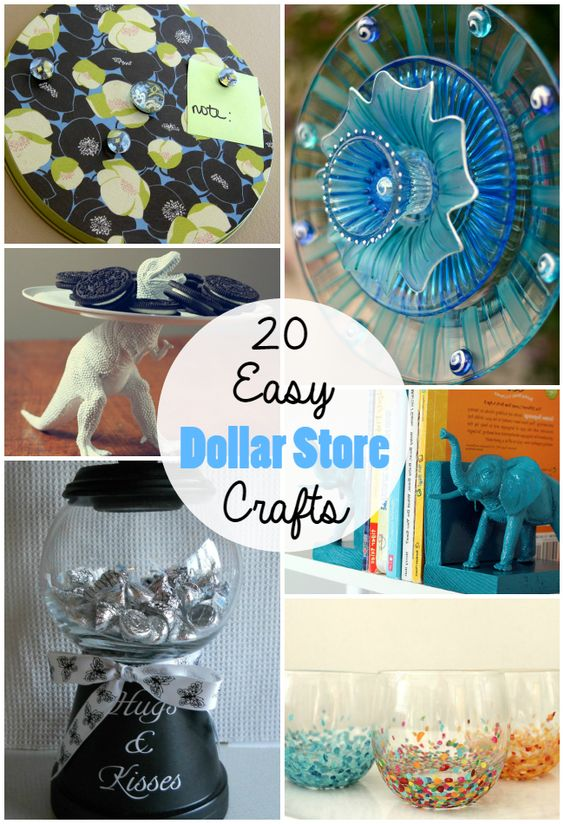 20 cheap simple dollar store crafts crafts arts and