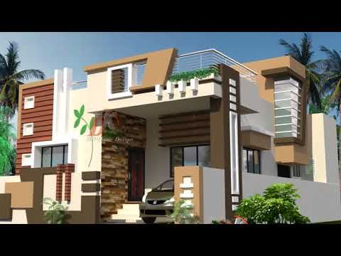 Beautiful Ground Floor Home Designs Youtube House Architecture