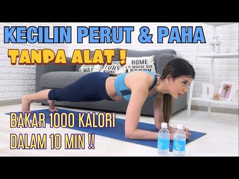 Olahraga 10 Menit Bakar Lemak Perut Dan Paha Tanpa Alat Olahraga Di Rumah Youtube Membakar Lemak Perut Body Fitness Olahraga