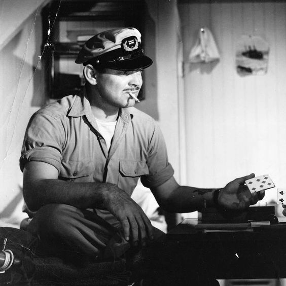 """Clark Gable in """"Adventure"""""""
