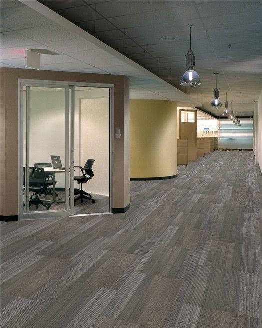 Shaw Carpet Tiles - Ashlar Installation | Commercial Carpet Tile