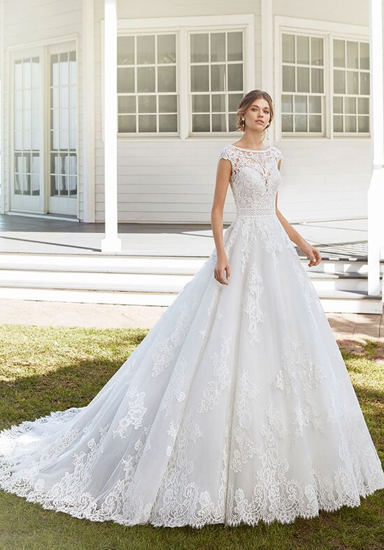 Rosa Clara Wedding Dresses The Knot In 2020 Wedding Dresses Rosa Clara Wedding Dresses Ball Gown Wedding Dress